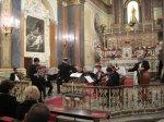 23/12/2012 SORRENTO (NA) Chiesa S. Teresa con Violinista Giacomo Mirra in L'Inverno di A.VIVALDI