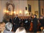 Applausi alla fine del Concerto con l'Orchestra G. Rossini