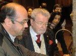 Sir James Galway - AVERSA (CE) - 21 gennaio 2012 - galway e io