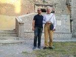 con Peter Lukas Graf a Sermoneta (Lt) 21 Luglio 2012