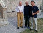 Con Peter Lukas Graf e Claudio Paradiso a Sermoneta (Lt) 21 Luglio 2012